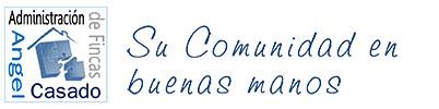 logotipo Administración de Fincas Ángel Casado